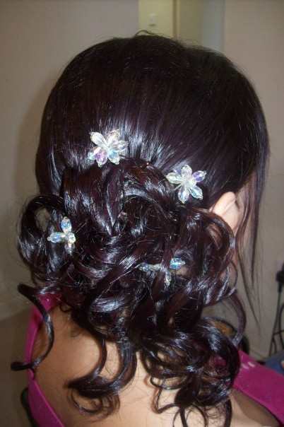 wedding hair by Liza
